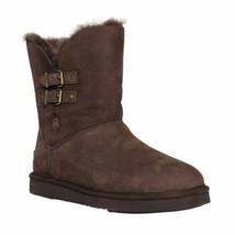 UGG Women Shearling Lined Winter Booties Renley II Size US 6 Chocolate L... - $99.94