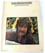 """Vintage 1970 Tom Rush """"Wrong End Of The Rainbow"""" Songbook 20 Songs Sheet... - $24.14"""