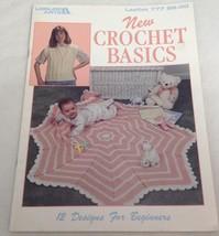 New Crochet Basics (Leisure Arts #777), 1989 - $4.50