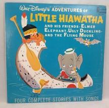 Walt Disney Little Hiawatha & Friends Elmer Elephant Ugly Duckling 33 rp... - $13.99