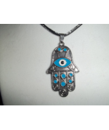 Hamsa Hands necklace with evil eye - $20.00
