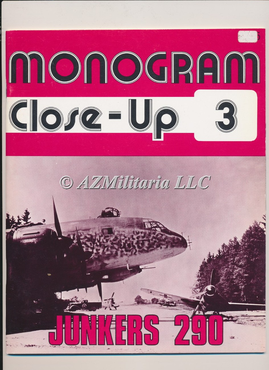 Monogram Close-Up 3 Junkers 290