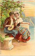 Serenede To My Love Vintage Post Card - $6.00