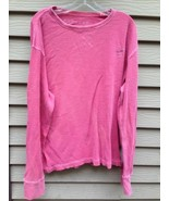 Men's AMERICAN EAGLE OUTFITTERS Long Sleeve Shirt LARGE LG Cranberry Color - $12.37