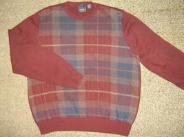 ARROW * Mens sz LARGE casual cotton SWEATER Shirt - $8.95