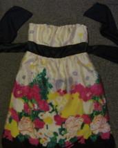 TWENTYONE * Womens sz SMALL Colorful strapless party Dress - $12.65