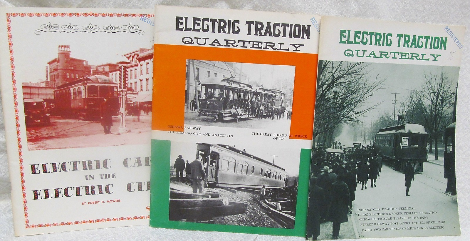 Primary image for Electric Traction Quarterly - 3 Issues