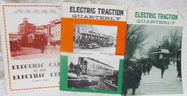Electric Traction Quarterly - 3 Issues - $65.00