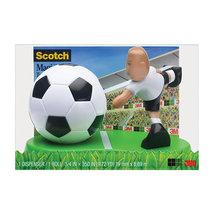 "Scotch Magic Tape Dispenser, With 3/4"" x 350"" Tape Roll, Soccer Design (... - €7,83 EUR"