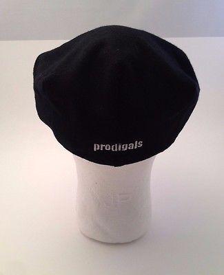New York Hat Co. Cabbie Newsboy Black Prodigals Large L