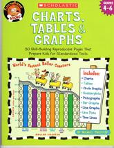 Charts, Tables & Graphs, Grades 4-6  - $4.95