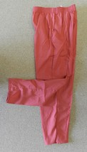 Famous Brand #8820 Sm Cranberry Maroon Front Seam Scrub Straight Leg Pan... - $16.46