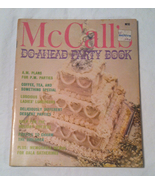 Vintage McCall's Do-Ahead Party Book 1970s cookbook holiday birthday rec... - $3.00