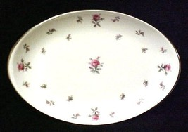 Rosechintz China Oval Platter Rose Chintz Japan... - $44.07