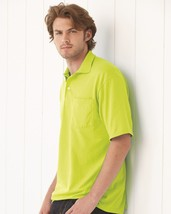 JERZEES - SpotShield 50/50 Sport Shirt with a Pocket - 436MP - $12.00 CAD+