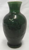 Vintage 1981 Avon Spring Bouquet Fragrance Dark Green Milk Glass Flower ... - $24.47