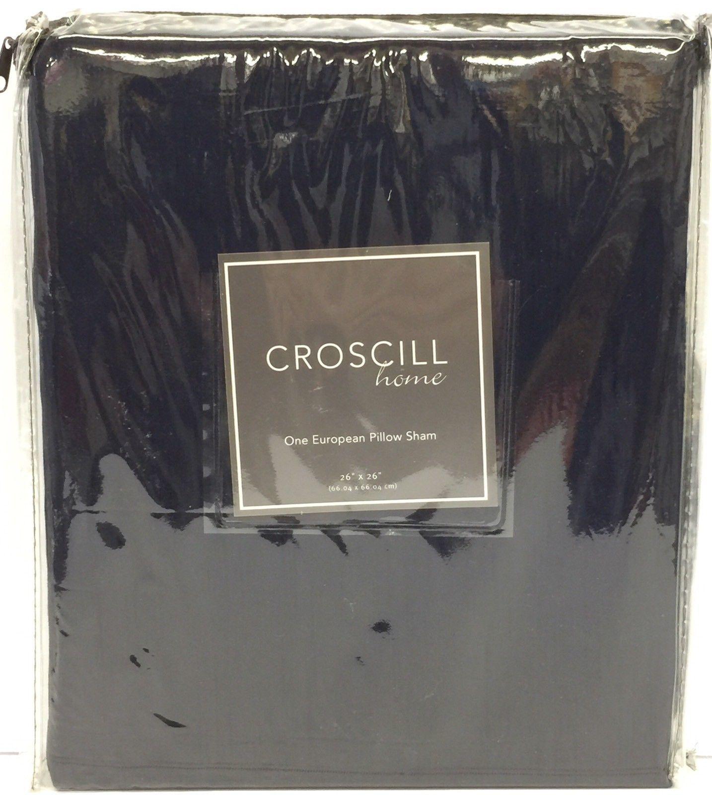 "Croscill Home Euro Sham 26/"" x 26/"""