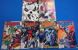 MANHUNTER lot of (6) issues (1988) #2 #3 #4 #5 (1994) #1 #2 DC Comics FINE - $9.89