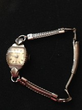 vintage benrus watch for woman made in usa mark... - $29.09