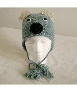 Koala Bear Hat w/Ties for Children - Animal Hats - Small - $16.00