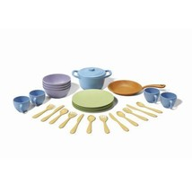 27-Piece Kids Toy Cooking Dishes Dining Play Se... - $49.53