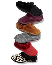 Charter Clum Memory Foam Women's Slippers Red Size S 5-6 - $9.89