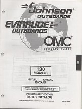 1997 OMC EVINRUDE JOHNSON OUTBOARD 130 MODELS PARTS MANUAL [Paperback] b... - $19.99