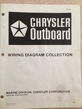 Chrysler Outboard Wiring Diagram Collection 1972 Models. OB 1534 [Paperb... - $12.50