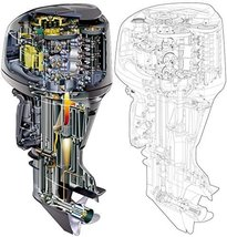 Yamaha F9.9 T9.9 Outboard Motor Service Manual Library - $39.99