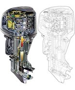 Yamaha HPDI two stroke Outboard Motor Service Manual Library Z150 175 200 - $49.99