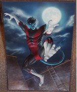 Marvel X-Men Nightcrawler Glossy print 11 x 17 In Hard Plastic Sleeve - $24.99