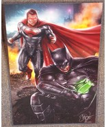 DC Superman vs Batman Glossy Print 11 x 17 In H... - $24.99