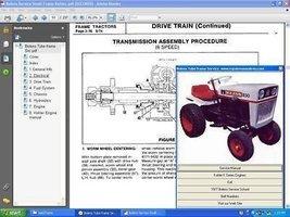 Bolens Eaton 10 /11 Transaxle Hydrostatic Repair Manual - $20.99