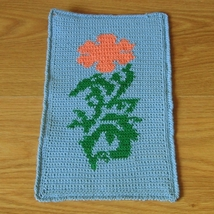 California Poppy In The Sky - Crochet Tapestry ... - $30.00