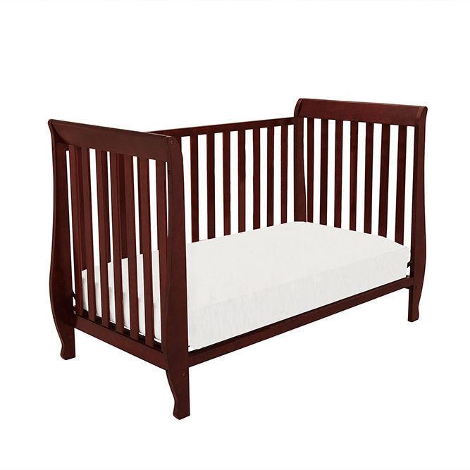 Non Convertible Cribs Graco Non Dropside Convertible Crib Cherry Rakuten Buy Delta Venetian 4