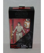 "Star Wars Force Awakens Black Series Rey and BB8 6"" Action Figure - $21.95"