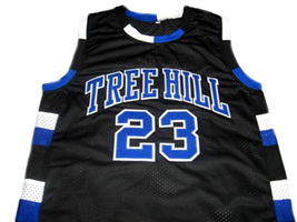 Nathan Scott #23 One Tree Hill Men Basketball Jersey Black Any Size image 4