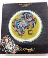 Ed Hardy Neon Wall Clock Battle NEW Skull Eagle Snake - $45.57