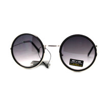 Designer Fashion Sunglasses Womens Chic Round Circle Frame UV 400 - $9.95