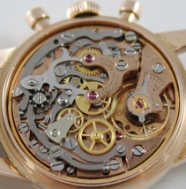 VERY RARE OMEGA 2451 WATCH 18k SOLID ROSE GOLD 321 MOVEMENT CHRONOGRAPH SWISS image 7