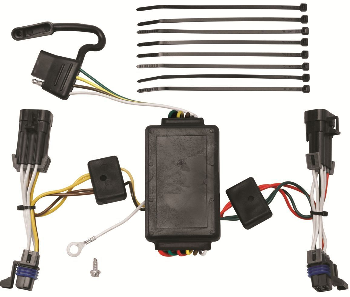 Trailer Wiring Harness Saturn Vue : Saturn vue trailer hitch wiring kit harness plug