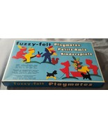 Fuzzy-Felt Playmates Complete Vintage Toy Set Made in England - $12.99
