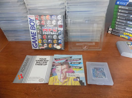 NFL Football original box inserts cartridge RARE (Nintendo Game Boy, 1990) - $19.95