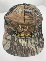 Primetime Camouflage Deer Hunter Made in USA Snapback Adult Cap Hat - $17.81