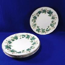 4 Vintage Ivy Nikko Greenwood Salad Dessert Plates - $16.50