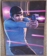 Star Trek Spock Glossy Print 11 x 17 In Hard Pl... - $24.99