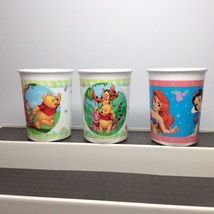 Disney Cup Set. Brand New! Pooh & Disney Princess - $5.00