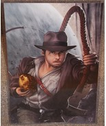 Indiana Jones Glossy Print 11 x 17 In Hard Plas... - $24.99
