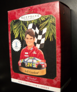 Hallmark Keepsake Christmas Ornament 1997 Jeff Gordon Stock Car Champion... - $7.99