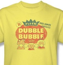 Dubble Bubble T-shirt retro 1980's candy gum 100% cotton graphic tee  DBL10 image 1
